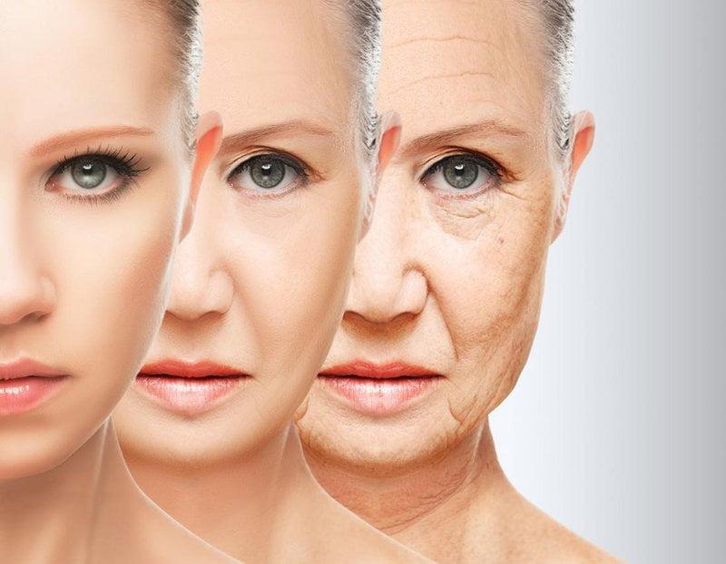 Biểu hiện của lão hóa da