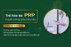 Trẻ hóa da PRP